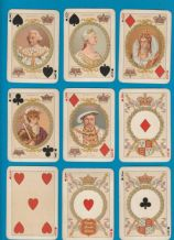 Antique Collectible playing cards. Queen Victoria Jubilee 1897 by Goodall,